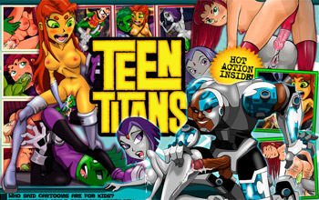teen titans cartoon porn